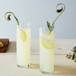 Lemon Lavender Gin Rickey