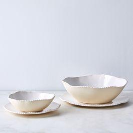 Handmade Lace Edge Dinnerware