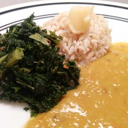 Spicy Sauteéd kale