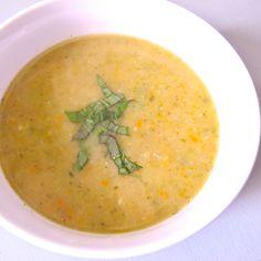 Secret Prize Zucchini Soup with Parmesan