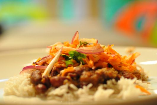 Indian Red Beans and Rice (Rajma)
