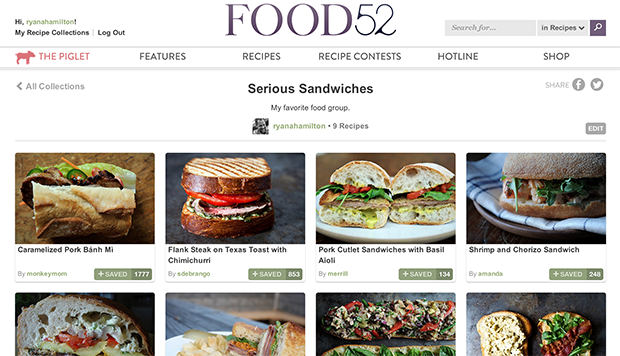 Introducing recipe collections recipe collection forumfinder Gallery