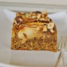 Apple caramel fudge cake