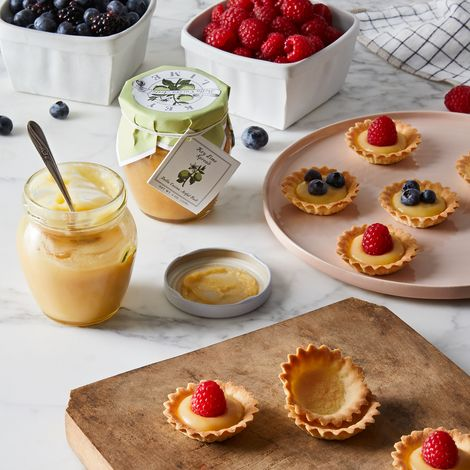 Citrus Spread & Sweet Pastry Tart Set