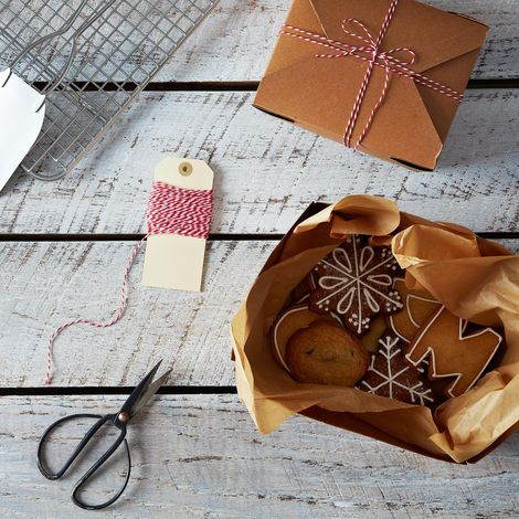 Kraft Gift Boxes and Twine
