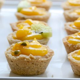 Tropical Passion Fruit Tartlets