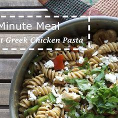 Skillet Greek Chicken Pasta