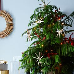Holiday Decorating Starts Now! With DIY Snowflake Ornaments