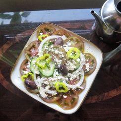 Horitaki (Greek Salad)