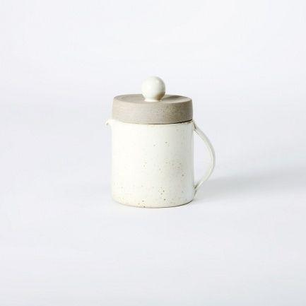 Basic Ivory Tea Pot