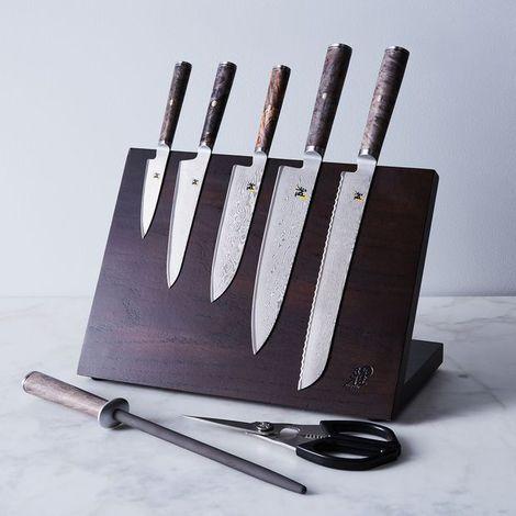 Miyabi Black Damascus Steel Knife Collection