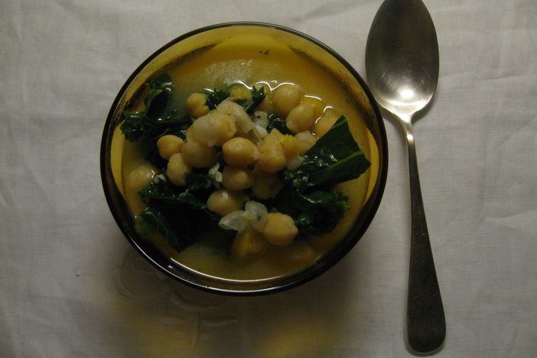 Garbanzo Bean Soup with a Twist