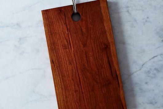 Rectangular Domestic Wood Serving & Cutting Board
