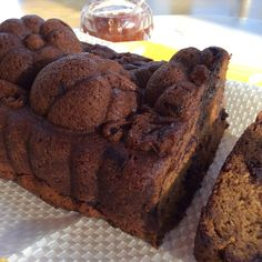 Dark Chocolate Chunk Pumpkin Bread