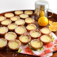 Mini Meyer Lemon Tarts