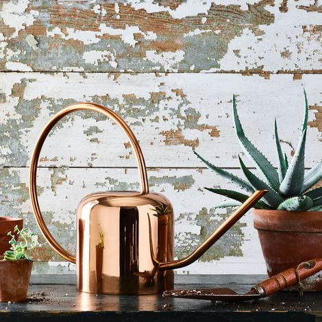 Vintage-Inspired Watering Can