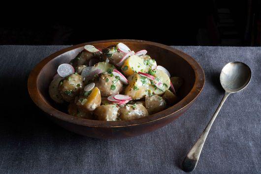 My Mother's Potato Salad