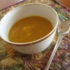 Delicate Delicata Squash Soup with Just a Little Kick