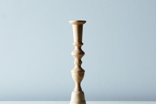 Georgian Wood Candlesticks