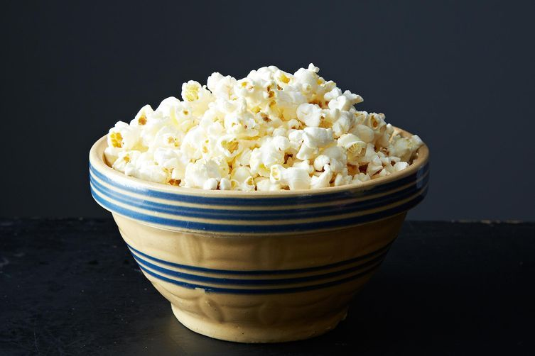 Don't you just want to pour some milk over this bowl of popcorn?