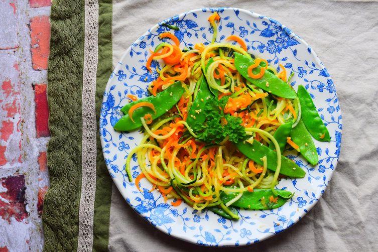 Courgette Noodle Salad