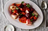 Moroccan-Style Roasted Beets, Carrots & Turnips