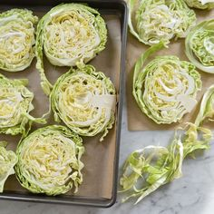 Oven Caramelized Cabbage Slices