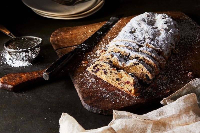 Stollen, in all its glory.