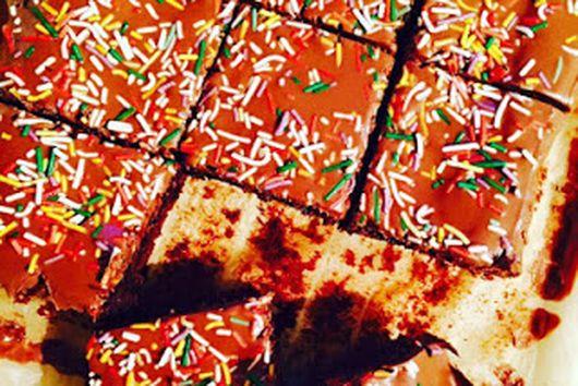 Sprinkles Brownies