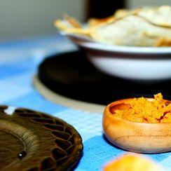 Sundried tomato & toasted Kashmiri chile Hummus