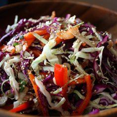 Peter Rabbit's Dream Salad (AKA Asian Slaw)