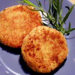 Potato (and Cauliflower) Cakes