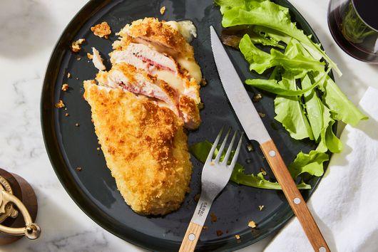 Easy, Cheesy Chicken Cordon Bleu