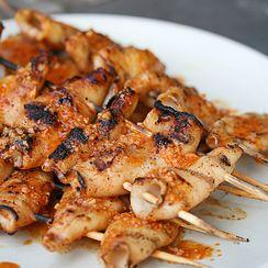 Spicy Grilled Calamari