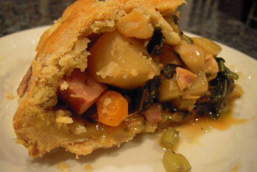 Chicken and Kielbasa Pie