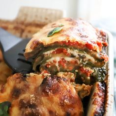 Low Carb Veggie Lasagna