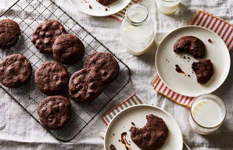 These Rich, Double-Chocolate Cookies Aren't For the Faint of Heart
