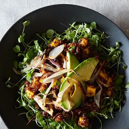 Quinoa and Mango Salad with Lemony-Ginger Dressing
