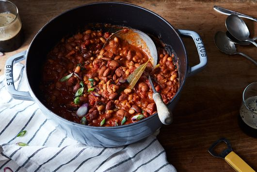A Gentle Reminder That a Can of Beans Gets You Halfway to Dinner