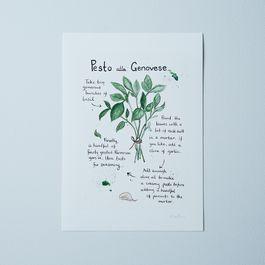 Emiko Davies's Pesto alla Genovese  Recipe Print