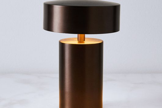 Danish Column Table Lamp