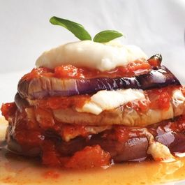 Grilled Eggplant Stacks