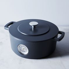 Railway Dutch Oven with Thermometer
