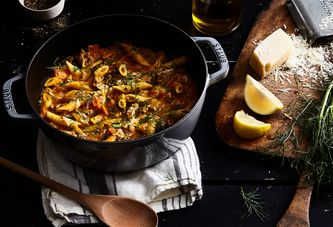 The Legendary All-In-One-Pot Pasta Gets a Fall Refresh