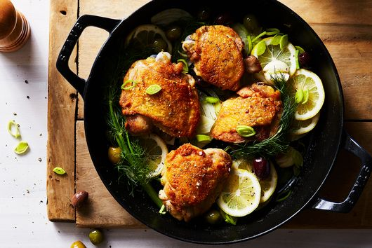 For Perfectly Braised Chicken Thighs, Memorize This Technique