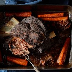 Twelve-Hour Lamb Shoulder with Ras el Hanout
