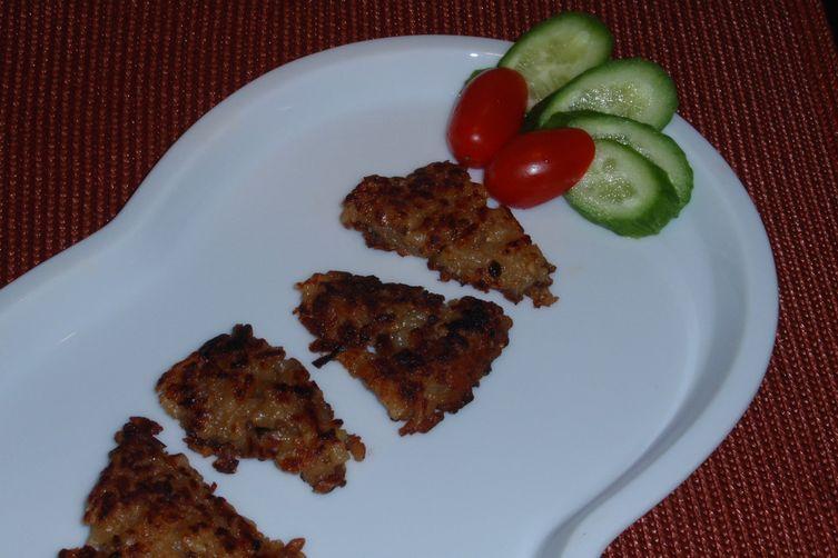 Crunchy Risotto Bites