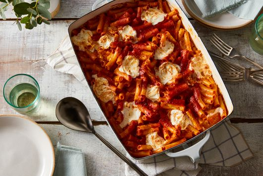 Grief, With a Side of Baked Ziti
