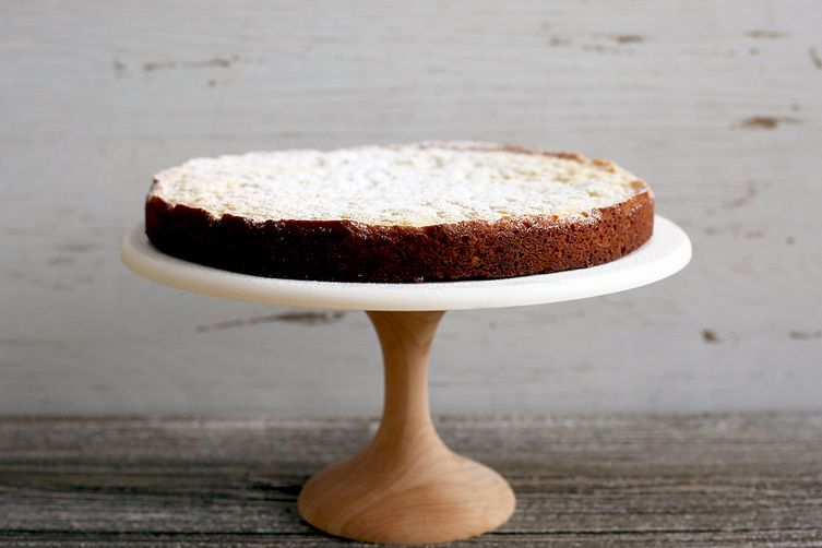 Squidgy White Chocolate Cake (Kladdkaka)