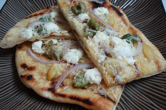 Mediterranean Grilled Flatbread